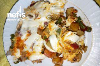 Kahvaltıya Sebzeli Omlet Tarifi