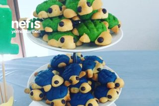 Kaplumbağa Kurabiyeler Tarifi