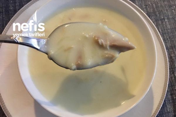 Kremalı Tavuk Çorbası Tarifi