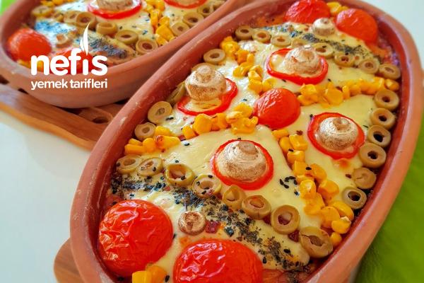 Patates Tabanlı Güveç Pizza Tarifi