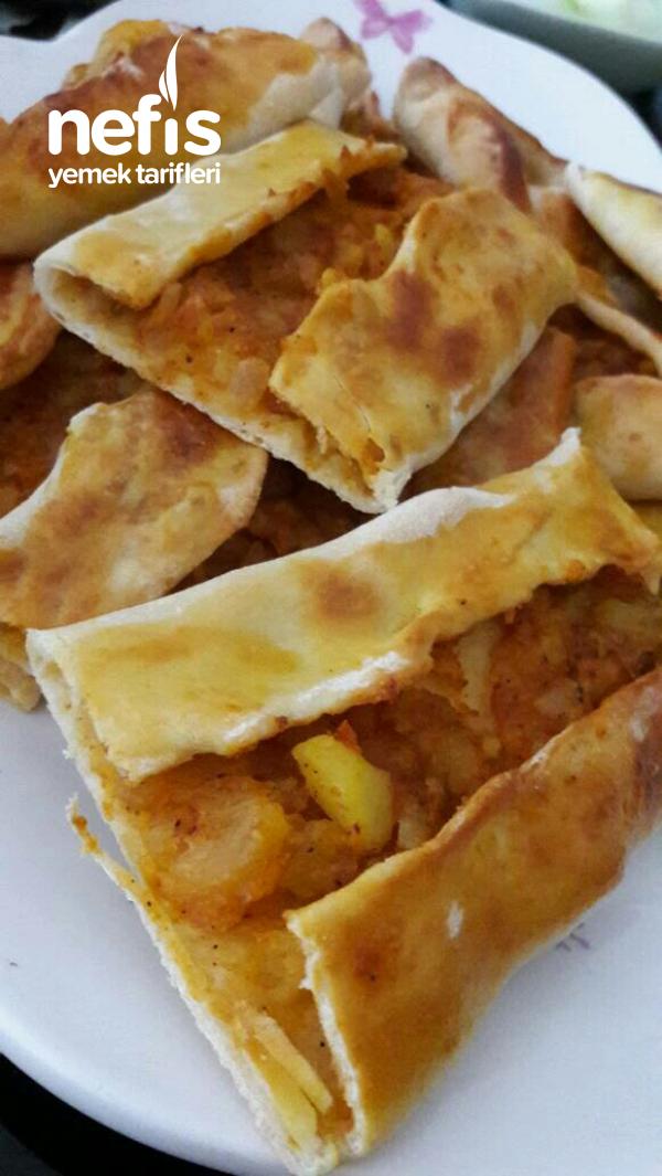 Patatesli Kır Pidesi