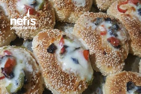 Pizza Simit Tarifi