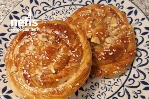 Porsiyonluk Tahinli Çörek Tarifi