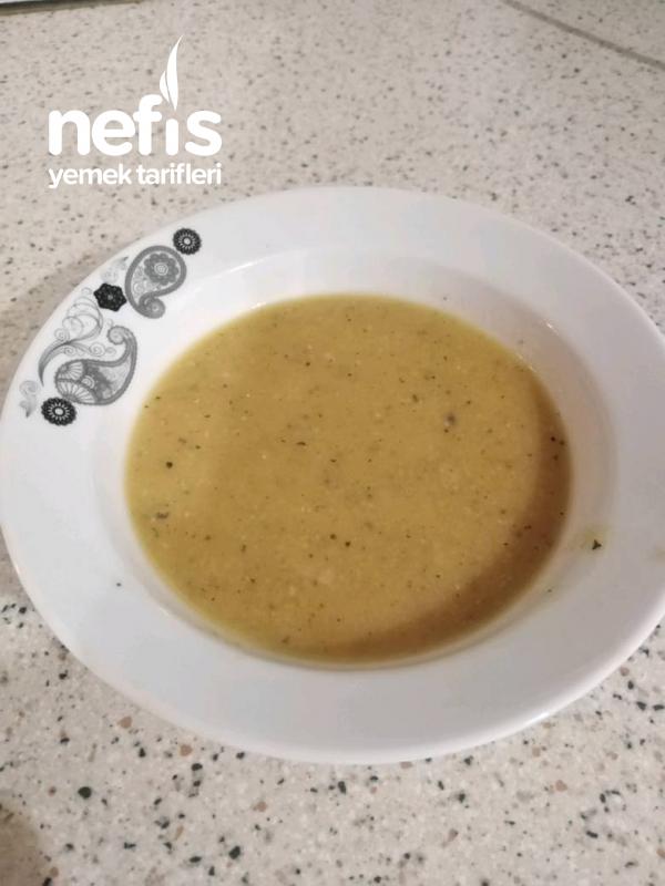 Sebzeli Şifalı Bebek Mercimek Çorbası