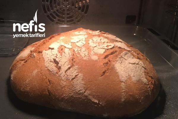 Siyez Unu İle Ekşi Mayalı Köy Ekmeği Tarifi