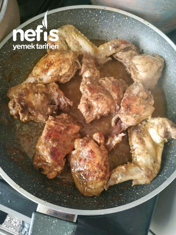 Yağda Pişmeyen Tavuk Eti