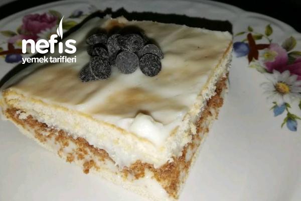 3 Katlı Bisküvi Pastası Tarifi