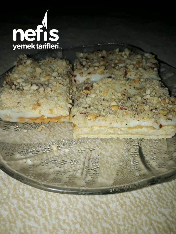Bisküvili Muhallebili Pasta (Tepside Magnolia)