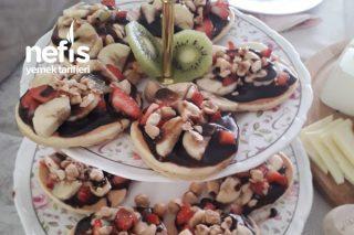 En Basit Waffle Tarifi