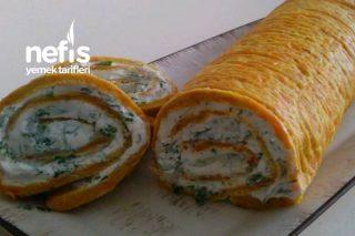 Havuçlu Rulo Salata (5 Çaylarınız İçin) Tarifi