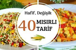 Konserve Mısırlı En Güzel 40 Değişik Tarif Tarifi