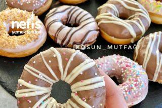 Yağ Çekmeyen Nefis Donut Tarifi