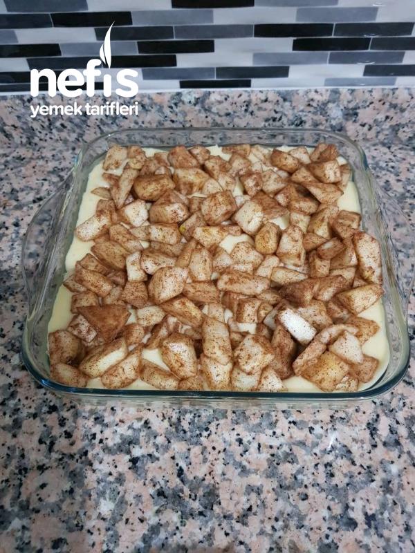 Elmalı Pamuk Kek