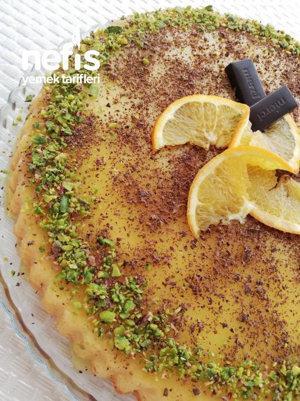 Portakallı Tart Pasta