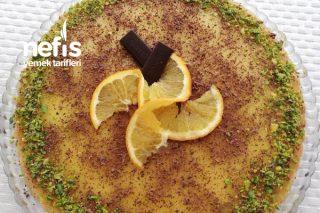 Portakallı Tart Pasta Tarifi