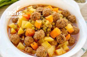 Sebzeli Köfte Yemeği Tarifi
