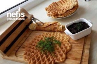 Türk Usulü Tuzlu Waffle Tarifi
