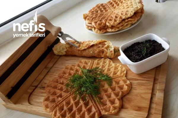 Türk Usulü Tuzlu Waffle