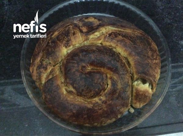 Aynı Hamurdan 2 Farklı Tarif)  Haşhaş Ezmeli Çörek Ve Açma (
