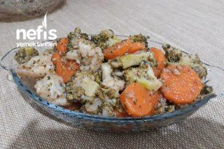 Brokoli-Karnabahar-Havuç Salatası (Bu Tarife Bayılacaksınız) Tarifi