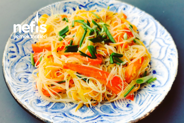 Cam Makarna Salatası Tarifi