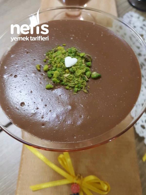 Çikolatalı Kremalı Puding ( Hazıra Son Verdiren Lezzet )
