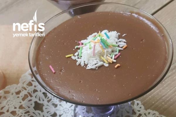 Çikolatalı Kremalı Puding (Hazıra Son Verdiren Lezzet) Tarifi