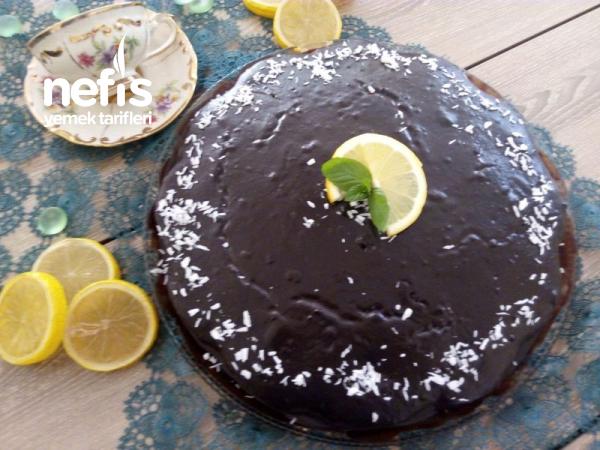 Çikolatalı Limonlu Kek ( Muhteşem Aromalı Kek )