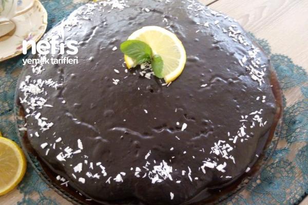 Çikolatalı Limonlu Kek (Muhteşem Aromalı Kek) Tarifi