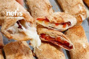 Fırında Paçanga Böreği ( Az Yağ Çok Lezzet) Tarifi