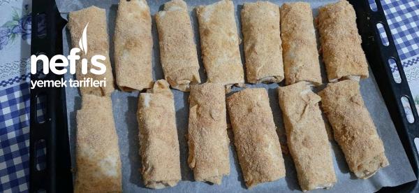 Fırında Paçanga Böreği ( Az Yağ Çok Lezzet)