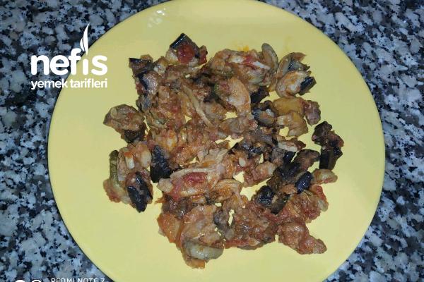 Kuru Patlıcan Ve Kuru Kabaktan Türlü Tarifi