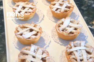 Muffin Kalıbında Elmalı Turta Tarifi