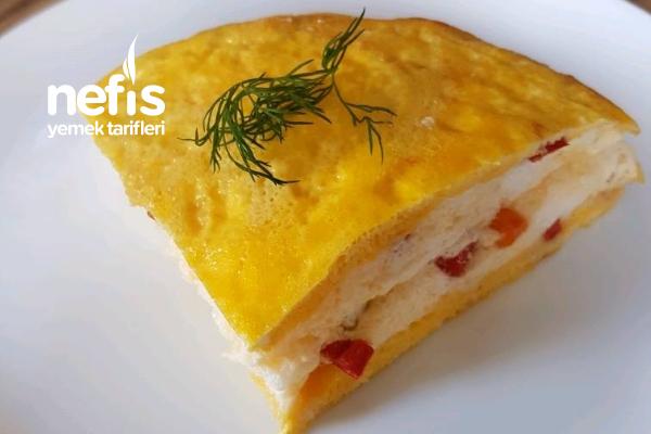 Omlet (Kek Görünümlü) Tarifi