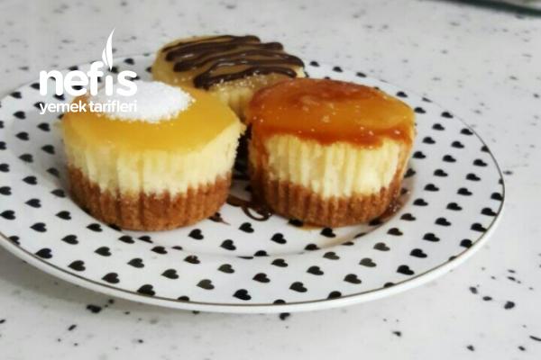 Porsiyonluk Cheesecake Tarifi