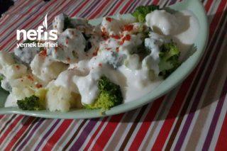 Brokoli Ve Çiçek Yoğurtlama Tarifi