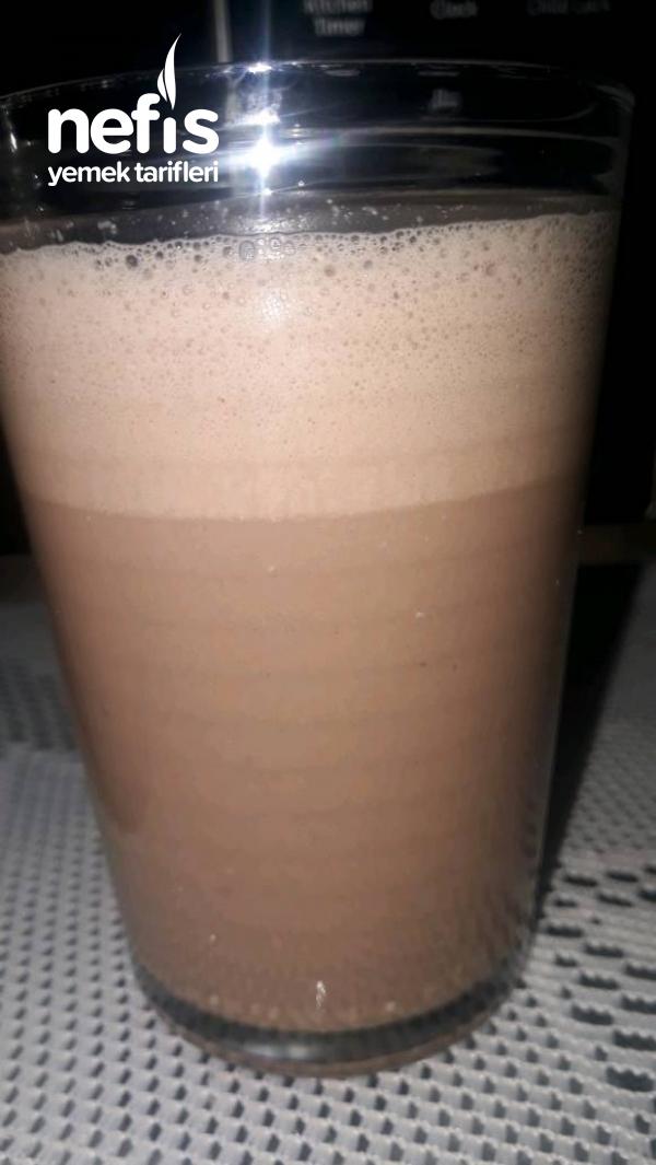 Çok Basit Sadece 3 Malzemeli Kakaolu Süt