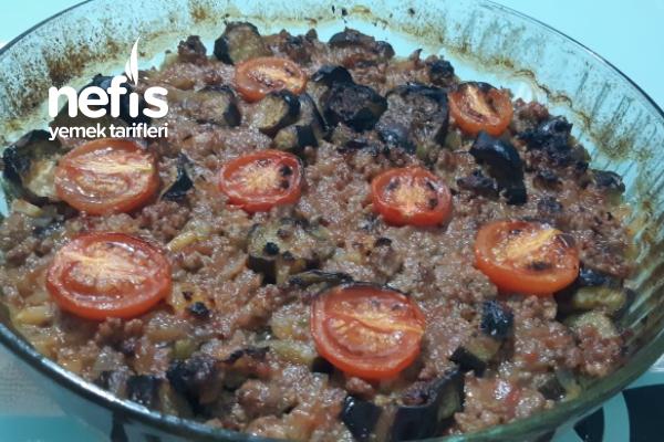 Fırında Patlıcan Musakka (Kızartmadan) Tarifi