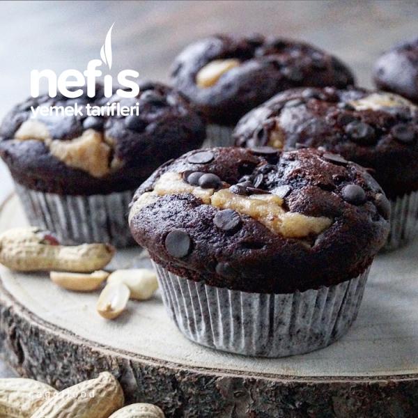 Fıstık Ezmeli Muffin