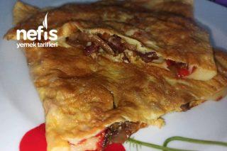 Mantarlı Sebzeli Omlet (Bayılacaksınız) Tarifi