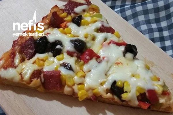 Tavada Şipşak Pizza Tarifi