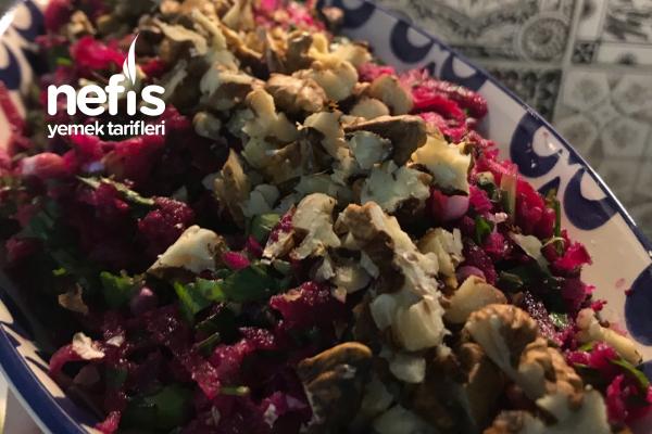 Cevizli Pancar Salatası Tarifi