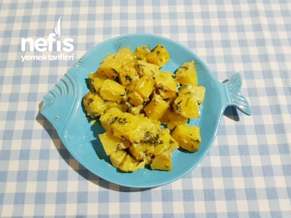 Kremalı Körili Patates (Balığın Yanına En Çok Yakışan Meze)