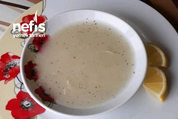 Şehriyeli Tavuk Suyu Çorbası Tarifi