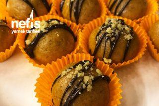 Burçaklı Ve Çikolatalı Bal Kabağı Topları Tarifi