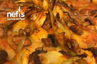 Mantarlı Köfte Patates Tarifi