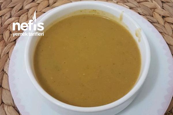 Sütsüz Kremasız Brokoli Çorbası Tarifi