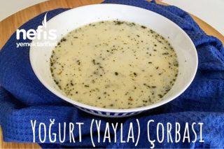 Yoğurt (Yayla) Çorbası Lapa Olmayan Tam Kıvamında (Videolu) Tarifi