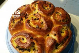 Almanya'nın Meşhur Pudingli Üzümlü Çörek Tarifi