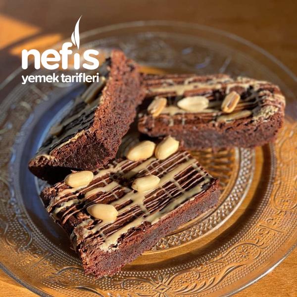 Badem Unlu Nefis Brownie ♡